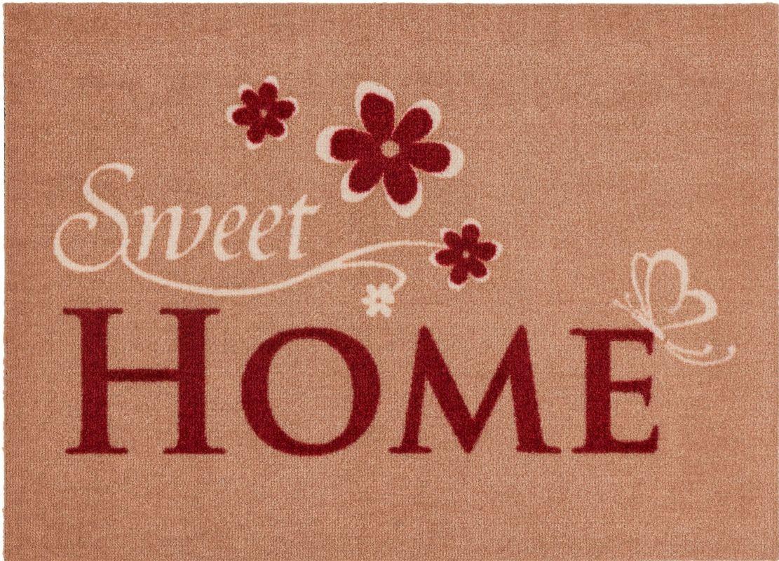astra fussmatte cardea sweet home beige 50x70 fu matten. Black Bedroom Furniture Sets. Home Design Ideas