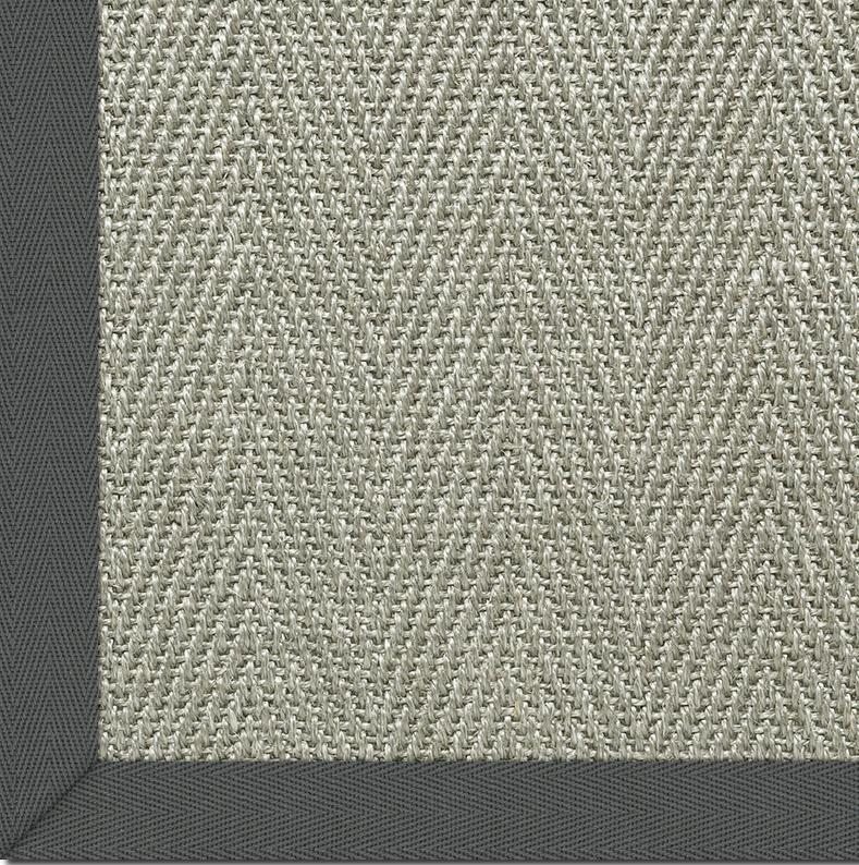 astra sisalteppich caracas col 41 grau teppich sisalteppich bei tepgo kaufen versandkostenfrei. Black Bedroom Furniture Sets. Home Design Ideas