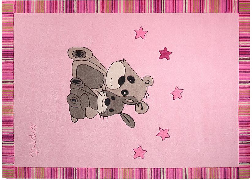 Esprit Teppich Kinderteppich ~ Esprit kinder teppich little best friends esp rosa pink