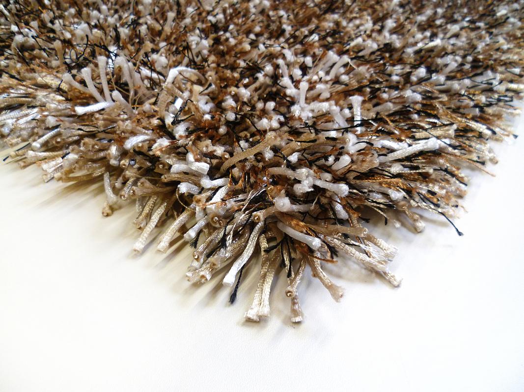 Teppichboden beige braun  Keen Joy Shaggy Cabernet beige braun schwarz Teppich Hochflor ...