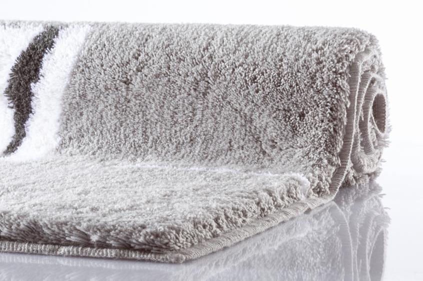 kleine wolke badteppich malaga platin badteppiche bei tepgo kaufen versandkostenfrei. Black Bedroom Furniture Sets. Home Design Ideas