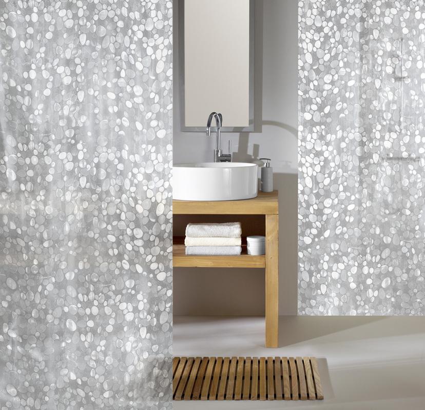 kleine wolke duschvorhang cristal clear 180 x 200 cm breite x h he badaccessoires. Black Bedroom Furniture Sets. Home Design Ideas