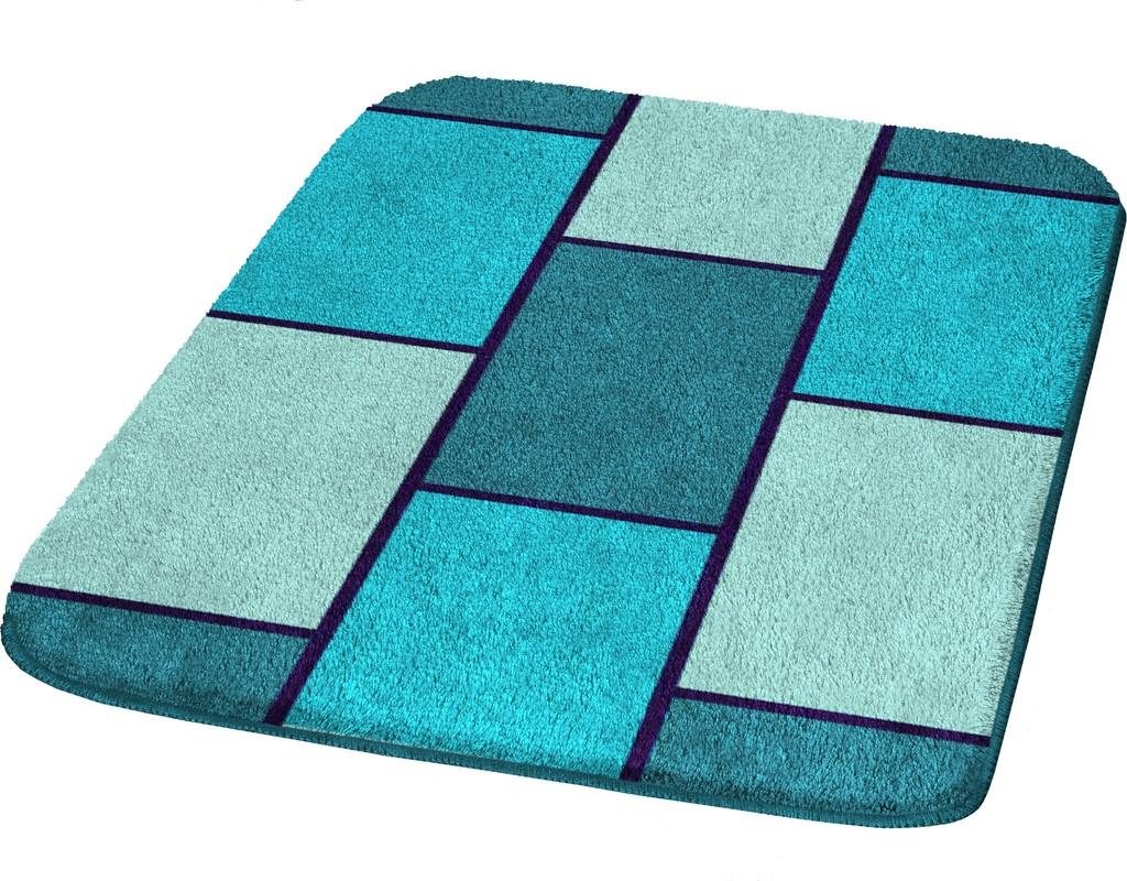Badteppich Türkis meusch badematte muro türkis badteppiche bei tepgo kaufen