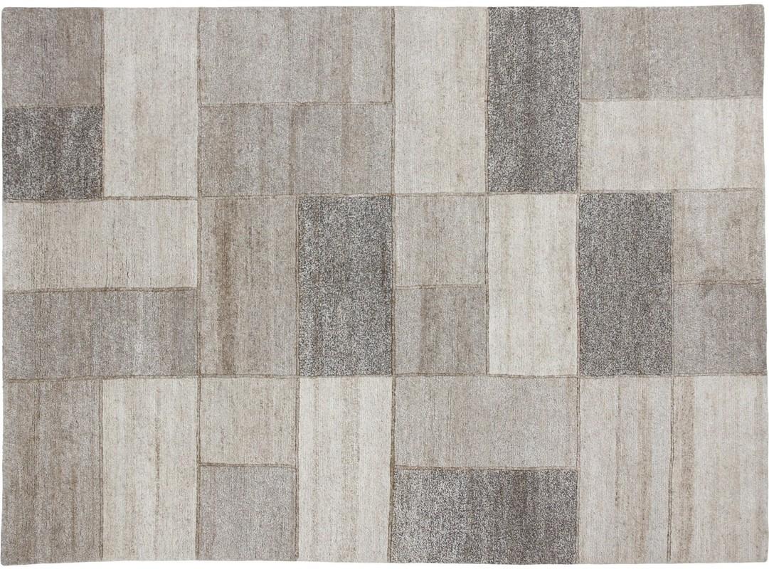 Teppich beige grau