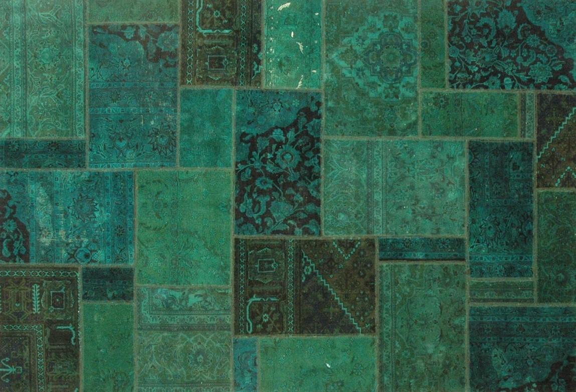Perserteppich patchwork  Orient Patch Patchwork 15 Teppich bei tepgo kaufen. Versandkostenfrei!