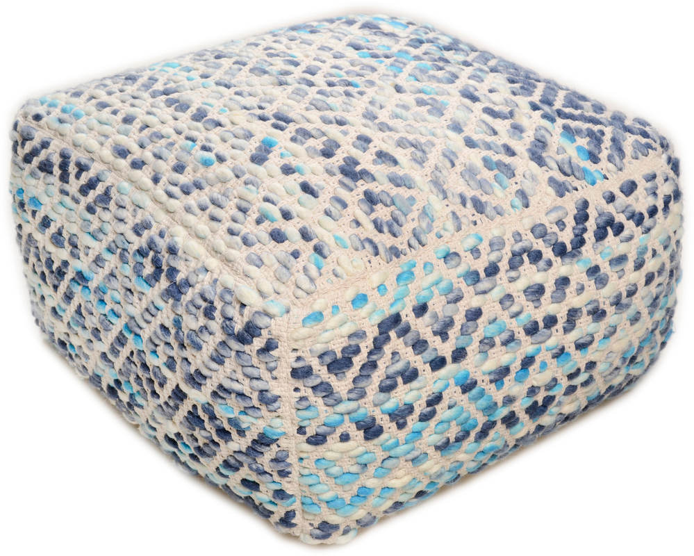 tom tailor pouf smooth comfort diamond blue. Black Bedroom Furniture Sets. Home Design Ideas