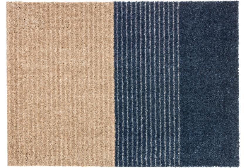 Schöner Wohnen Fußmatte Manhattan Design 003 Farbe 022 Streifen Dunkelblau